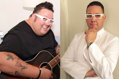 Chef Graham Elliot lost 150 pounds after having a portion of his stomach removed by surgeons at the University of Chicago's Center for Care and Discovery.