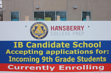 Hansberry College Prep in Auburn Gresham will become the first public, charter school in Illinois to offer the International Baccalaureate program.