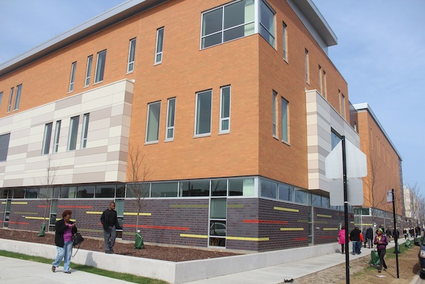 The Hyde Park Day School and the Shankman Orthogenic School celebrated the opening of the new Woodlawn campus on Sunday.