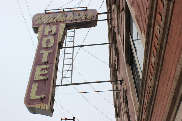 The longtime SRO hotel issued eviction notices to its many mentally ill tenants last week.