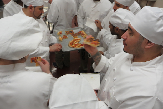 A new culinary program run by chef Bruno Abate aims to train inmates for foodservice jobs.