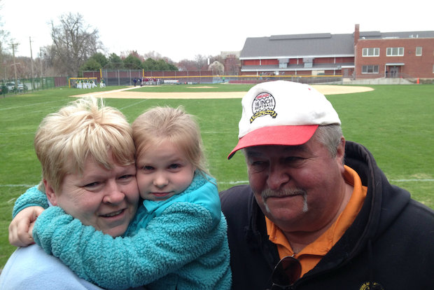 The Dowling family has lived just beyond the right field fence of Morgan Park Academy's baseball field for the last 24 years.