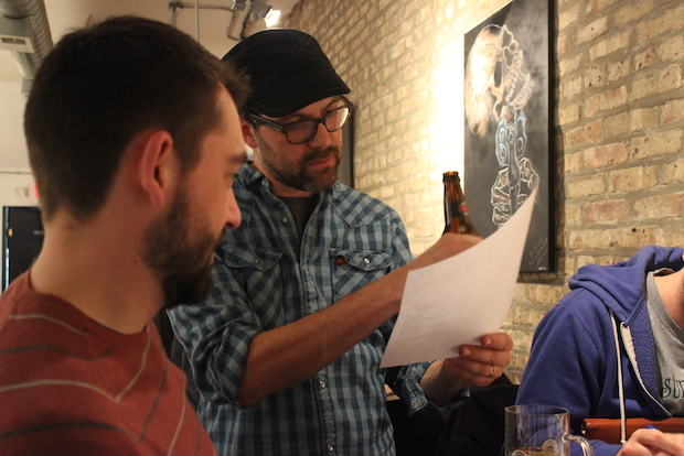 "Monthly ""Puzzled Pint"" pub nights swap out trivia for wordplay and code-breaking."