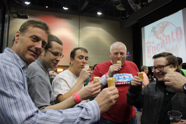 The Sixth Annual Baconfest Chicago is being held at the UIC Pavilion this weekend.