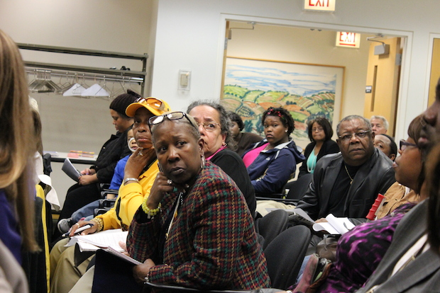 A state task force held a public meeting Monday in Chatham to discuss ways to combat truancy at Chicago Public Schools.