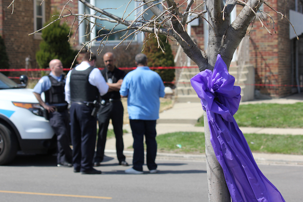 A Chicago police officer and Cook County Sheriff's officer were killed Sunday in an apparent murder-suicide in Garfield Ridge.