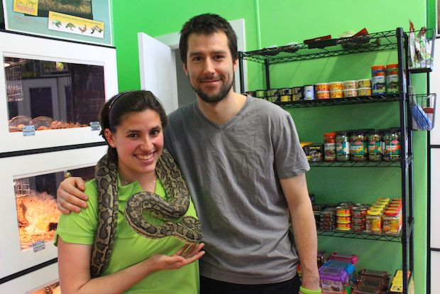The folks behind the specialty shop are girlfriend and boyfriend Alison Pelletier and Andrew Babbitt, of north suburban Evanston.