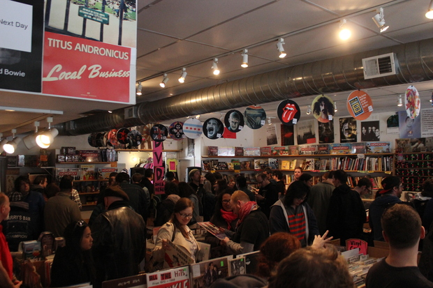 Record Store Day. April 19, 2014