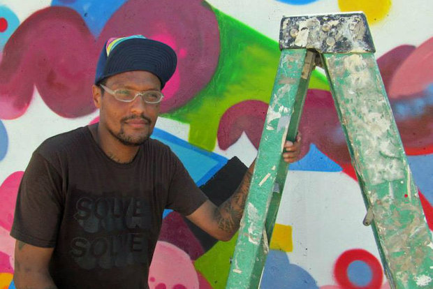 Brooks Blair Golden, the artist who created Pilsen's owl mural along 16th Street, died Saturday morning.