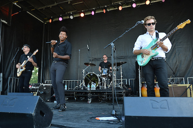 "JC Brooks & the Uptown Sound perform at Chipotle's ""Cultivate Chicago,"" in Lincoln Park on Sept. 15, 2012. The band is scheduled to play Do-Division Street Fest this summer."