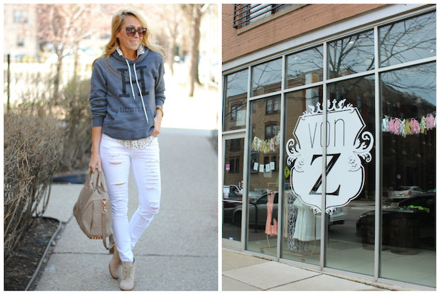 Von Z co-owner Jenna Zielbauer is closing the store to launch her own T-shirt line called Casual Friday.