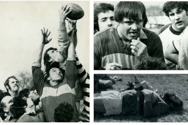Undated photos from the Lincoln Park Rugby Club.