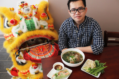Ricky Dinh, 28, opened Little Vietnam at 1132 W. Bryn Mawr Ave. this week.
