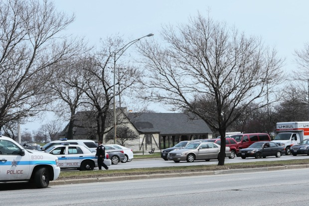 Traffic between Wilson and Foster wasa closed Wednesday afternoon because of the incident.