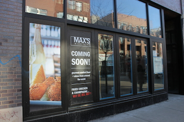 MAX's Wine Dive plans to open in May at 1482 N. Milwaukee Ave.