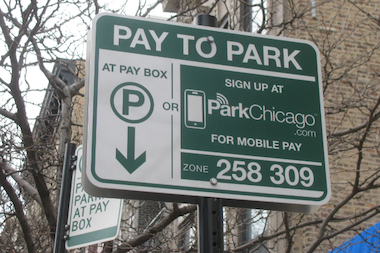 The ParkChicago App debuted Tuesday in a small section of the West Loop.