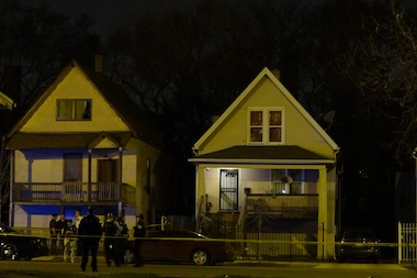 A 37-year-old man was shot and killed around 9:25 p.m. Friday in the 2700 block of East 76th Street, police said.