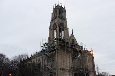 Repairs to St. Ita Church's limestone bell tower are expected to cost $205,000.