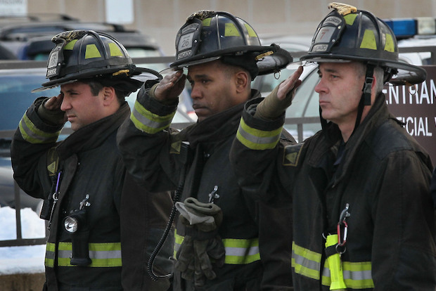 Two firefighters, Corey Akum and Edward Stringer, were killed on Dec. 22, 2010