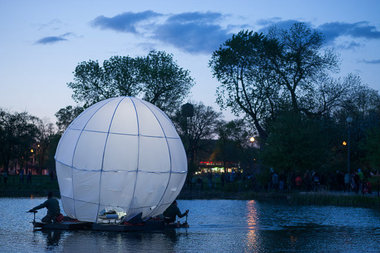 A chorus of lullabies will greet visitors at Humboldt Park as Moon on the Lagoon revisits the lake.