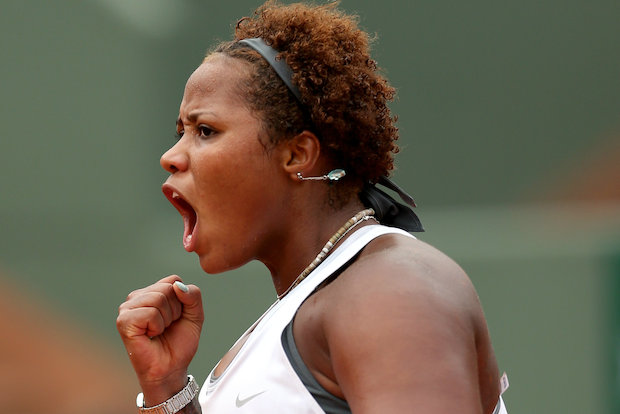 Taylor Townsend, an Englewood native, competed in the second round of the French Open on Wednesday.