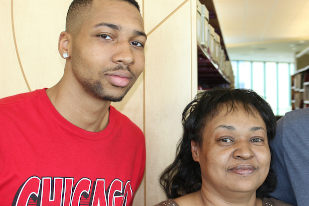 Tonya Williams, a 48-year-old wife and mother of three adult sons, will graduate from Chicago State University on May 15, 2014 with a bachelor's degree in psychology.