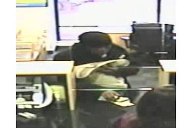The FBI says this man robbed a Ukrainian Village bank Thursday.