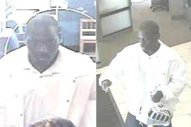 The FBI says this man robbed a South Loop Chase Bank Friday.