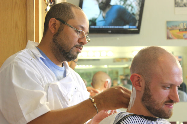 Barber Aaron Williams is funding his new Lincoln Square shop via LendSquare.