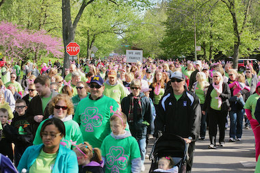The 15th annual Beverly Breast Cancer Walk begins at 8 a.m. on Sunday at Ridge Park. The event draws upward of 12,000 participants making it the largest such event on Mother's Day in Chicago.