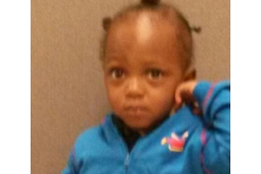 Police are looking for the family of a toddler found alone on the curb of an Englewood street Friday morning.