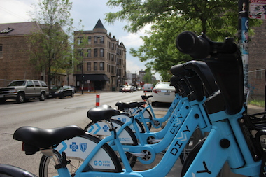 A nonprofit bike group, which kicked off their ride in Kansas City, will pass through Pilsen Tuesday, stopping along two 18th Street Divvy stations.