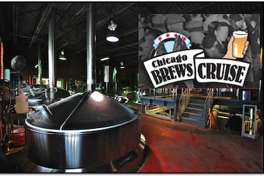 Brews Cruise will take 11 readers, plus DNAinfo.com Chicago Patty Wetli on a guided tour of three breweries on May 30.