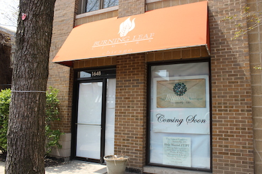 The Green Goddess Boutique is coming to 1648 N. Damen Ave., the former Burning Leaf Cigars storefront.