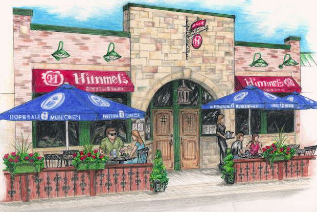Himmel's restaurant to have first sidewalk cafe on Lawrence Avenue.