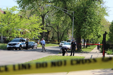 A woman was shot in her leg Thursday in Chatham. (file photo)