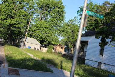 This vacant lot is one of 13,700 lots in Englewood and West Englewood owned by the city, about 20 percent of the city's total land inventory.