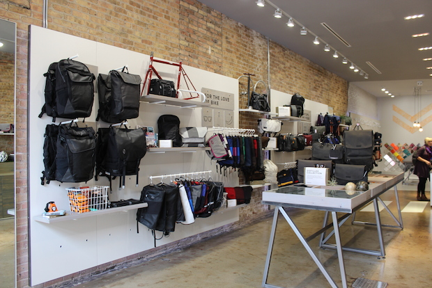 The bike-friendly shop had a soft opening this week at 1623 N. Damen Ave.
