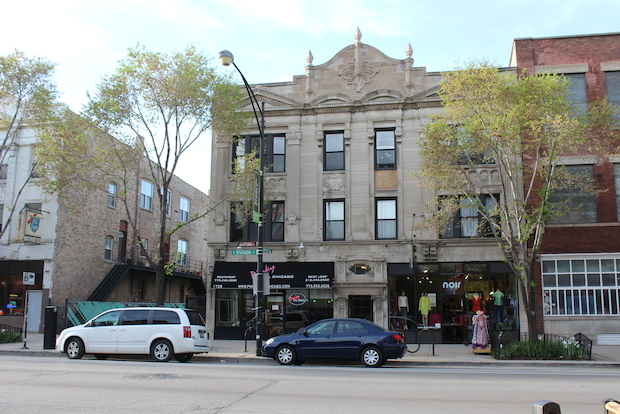 Plans concern the building that currently houses Noir Boutique and Pinky Nail Chicago.