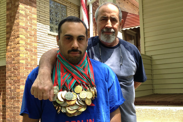 William Rodriguez, 32 or Montclare, has won more than 100 medals with Special Olympics. His top sport is volleyball.