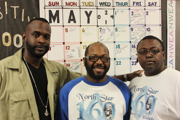 The fourth annual 100 Positive Black Men program at Daniel Wentworth Elementary School in Englewood runs until May 30, 2014.