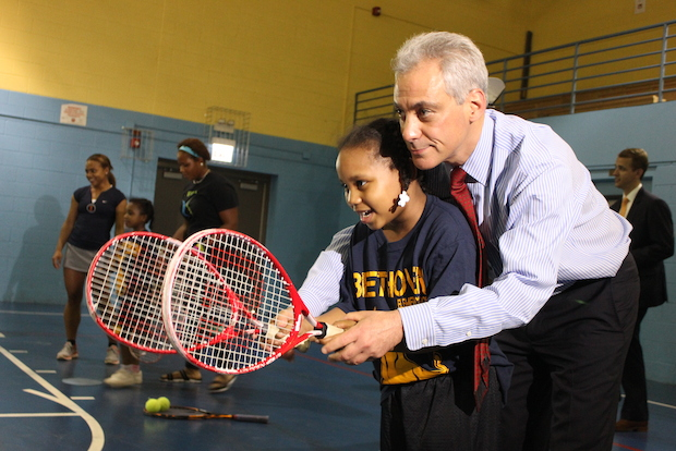 XS Tennis and Education plans to build a 112,000 square-foot athletic center in Bronzeville and offer a mobile tennis program to students at Beethoven Elementary School.