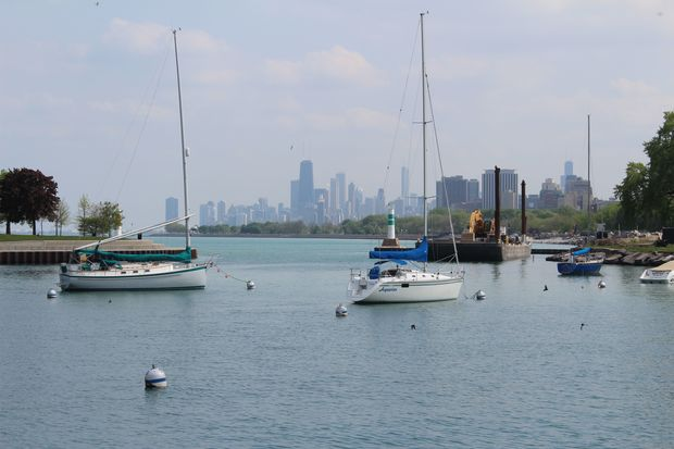 The incident occurred around 9:30 p.m. Sept. 13 at Montrose Pier, the witness said.