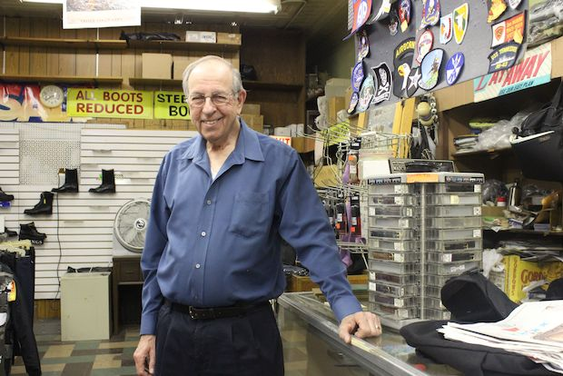 "The retiring owner of the closing shop said he's been told shops like his are ""dying."""