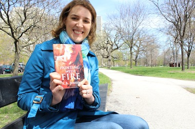 Kirsten Jensen has set her first murder-mystery novel in a darker, fictional version of Hyde Park.