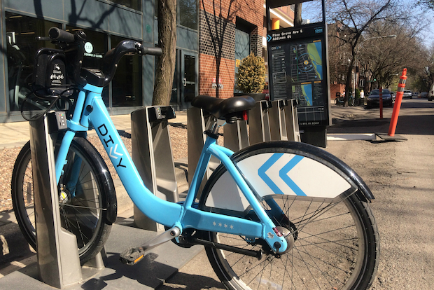 The Divvy station once located near Addison and Pine Grove has been moved to Waveland and Pine Grove. It was the subject of a lawsuit from residents who didn't want it, although city officials said the suit did not play a role in the change.
