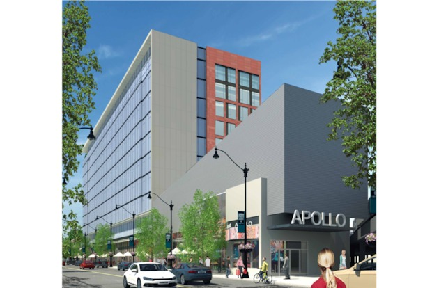A developer is proposing an $80 million development to replace the building at 2518-2540 N. Lincoln Ave.