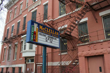 McClellan Elementary in Bridgeport will get air conditioning in all classrooms, part of the school district's 2015 capital program.