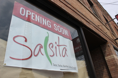 Salsita, 3706 N. Halsted St., is expected to open this summer.