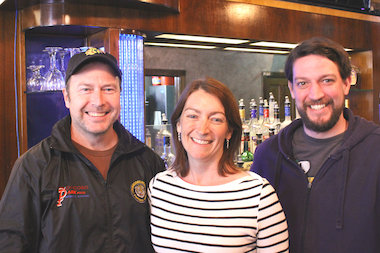 John Sheahan, Jen Sheahan and Terry Hanson carry on the tradition of the family bar with their new venture in Irving Park.